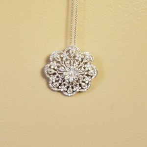 Nadri pave crystal necklace from Nordstrom